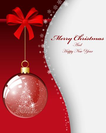 weihnachten tanne: Weihnachten Hintergrund Illustration mit Transparenz und Maschen
