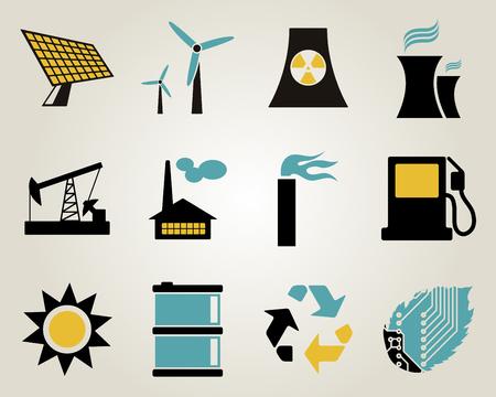 electricidad industrial: Electricidad, la energía y del icono de energía.
