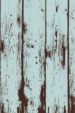 Grunge two colors wooden wall pattern. Vector illustration.