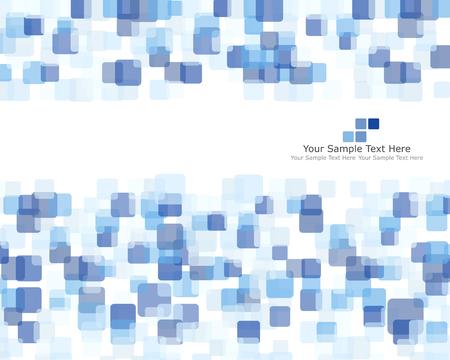 fondos azules: Resumen comprobado patrón. ilustración vectorial con transparencia.