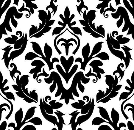 Damask seamless pattern. EPS 10 vector illustration without transparency.Damask seamless pattern. EPS 10 vector illustration without transparency.Damask seamless pattern. EPS 10 vector illustration without transparency.Damask seamless pattern. EPS 10 vect
