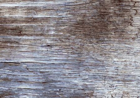 painted wood: Old painted wooden texture. Illustration