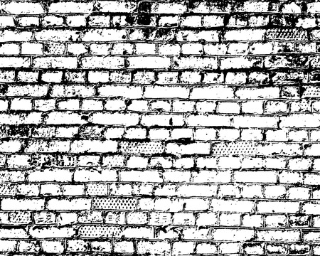 Brick wall detail texture.