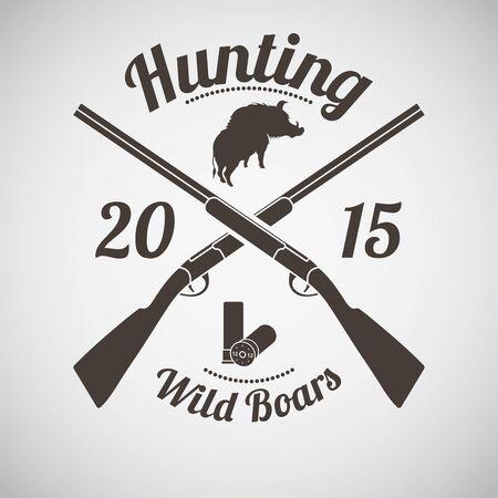 hunt: Hunting Vintage Emblem