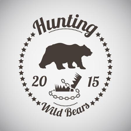 mantrap: Hunting Vintage Emblem