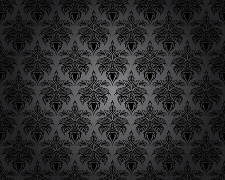 royal background: Damask Seamless Pattern. Elegant Design in Royal Baroque Style Background Texture Illustration