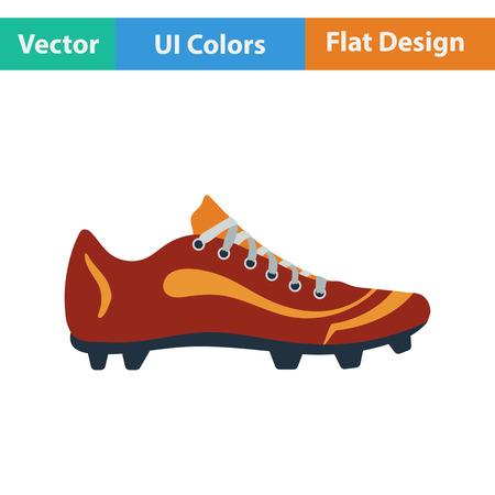 Icono de arranque de béisbol Diseño plano. Ilustración vectorial