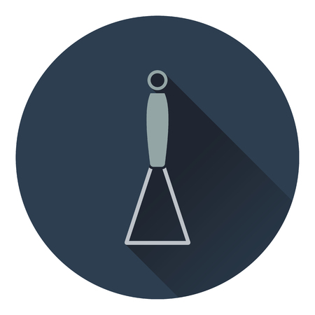 masher: Potato masher icon. Flat design. Vector illustration.