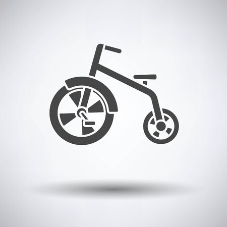 antique tricycle: Baby trike icon