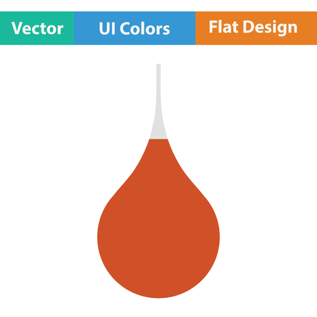 einlauf: Enema-Symbol. Flache Farbgestaltung. Vektor-Illustration. Illustration
