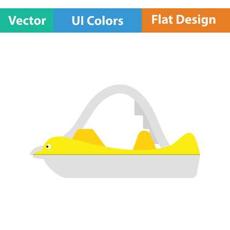 icon. Flat design. Vector illustration.