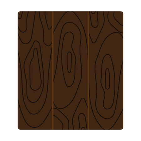 Icon of parquet plank pattern. Flat color design. Vector illustration.
