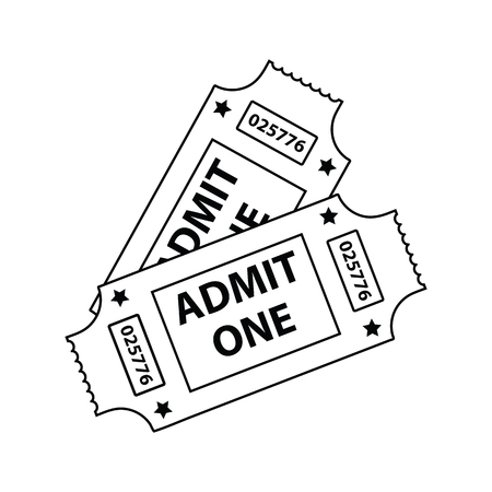 12910 Movies Tickets Stock Vector Illustration And Royalty Free