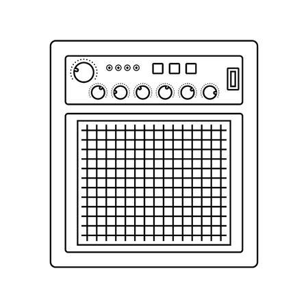 Audio monitor icon.