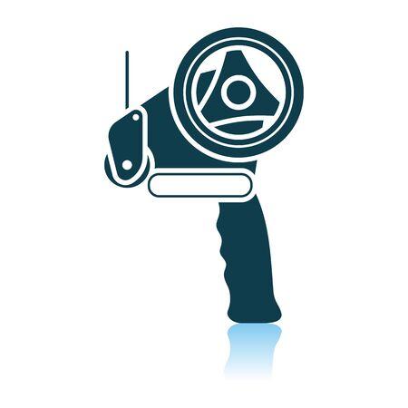 Reparaturwerkzeug-Symbol. Schattenreflexion-Design. Vektor-Illustration. Vektorgrafik