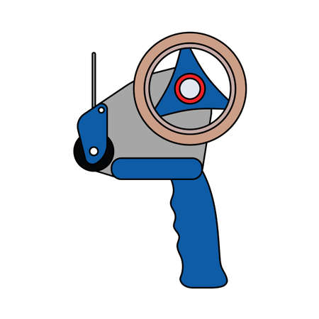 Dispenser Icon. Editable Outline With Color Fill Design.