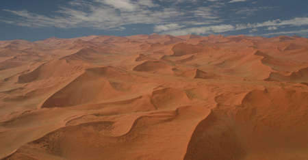 Sea of Red Dunes Stock Photo - 696309