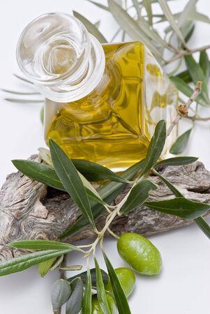 good cholesterol: Olives and olive oil.