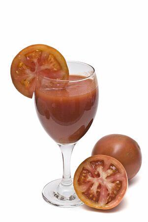 Tomato juice. photo