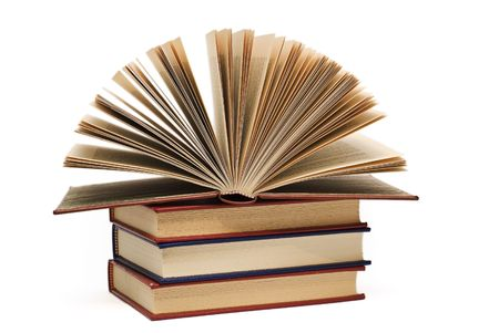 writing book: Un libro di movimento su altri libri.