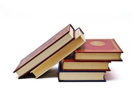 prose: Old books.
