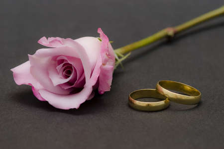 Marriage is for ever. photo