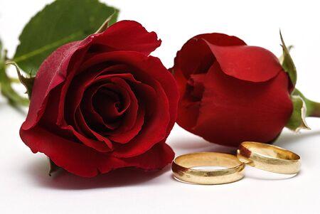 Anneaux de mariage.