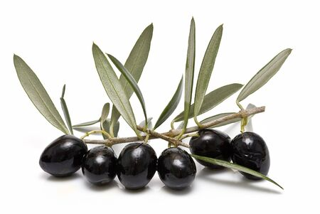 Black olives. Stock Photo