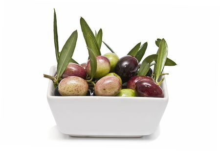Olives in a bowl. Stock Photo - 6541159