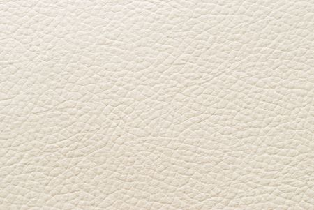 leather pattern: White leather texture. Stock Photo