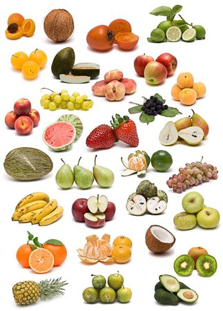 Fruits collection. photo