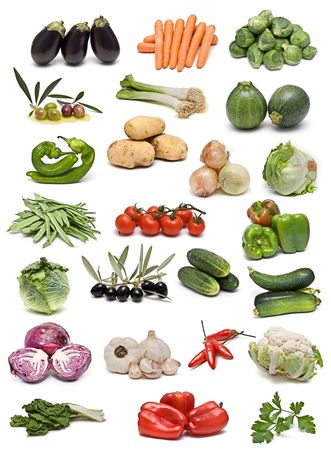 Vegetables collection. photo