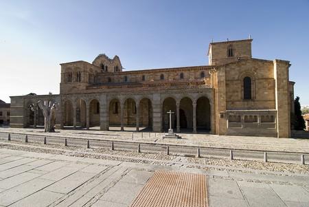 San Vicente church in Avila, Spain. photo