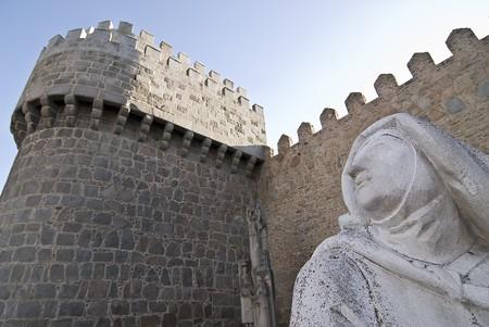 Santa Teresa statue. photo