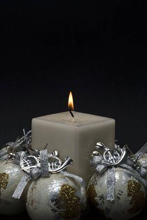 however: Christmas greeting card. Stock Photo