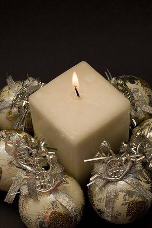 coronas navidenas: Tarjeta de felicitaci�n de Navidad.