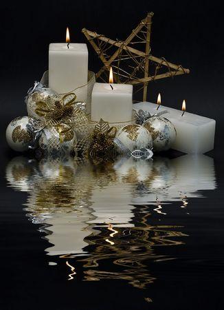 クリスマスのグリーティング カード。