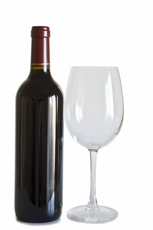 A bottle of wine and a cup. Stock Photo - 7711349