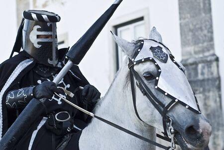 Medieval knight. photo