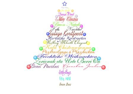 kind of: Christmas card. Stock Photo