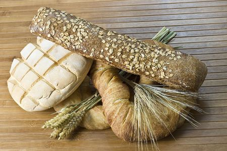 Still life about bread. photo
