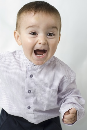 Excited child. Stock Photo