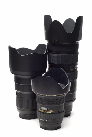 convertor: Photographic equipment and accessories. Stock Photo