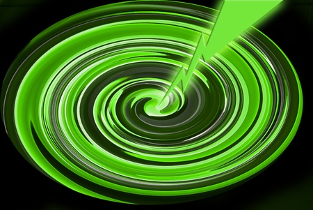 pictorial  representation: Green light painting background.