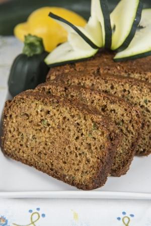 spongy: Vegetarian cake made of zucchini, ginger and lemon peel