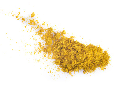 curry powder: Currry powder isolated on a white background