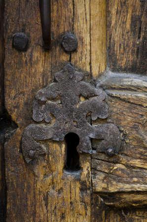 old church lock