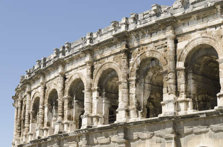 ancient arenas of Nimes