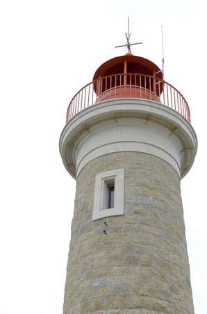 lighthouse isolated Stock Photo