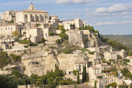 gordes: old hilltop village of Gordes in Provence